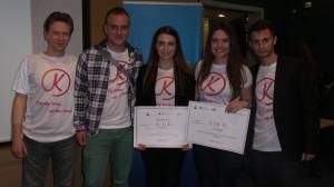 Екипът KIN.AL pobeditel v iniciativata na Citibank i Junior Achievement