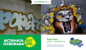 Nikoi ne se e rodil nauchen - sravnenie na grafiti na Nasimo ot 1995 i 2012